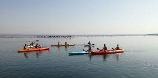 escursione in canoa sul Mar Piccolo