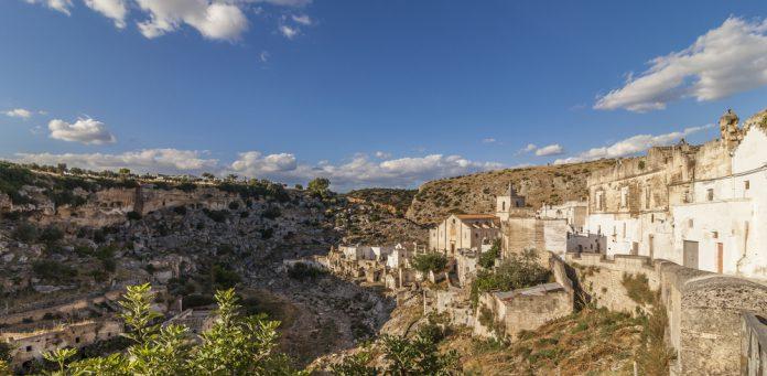 Panoramic view of Ginosa