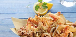 Ginosa. La ricetta dei calamari e gamberi fritti. Una delizia
