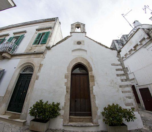 Martina Franca. La chiesa di san Nicola in Montedoro