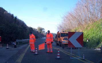 Finanziamento della Provincia per la manutenzione delle strade provinciali
