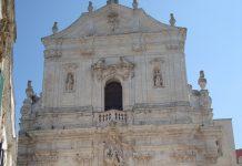 Martina Franca. Basilica di San Martino dedicata a Martino di Tour