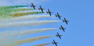 Taranto. Le frecce tricolori sono ritornare per la gioia di tutti
