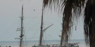 Taranto. Al porto la nave scuola Palinuro della Marina Militare