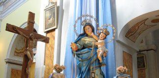 Taranto. Processione Madonna Del Carmine prima della festa