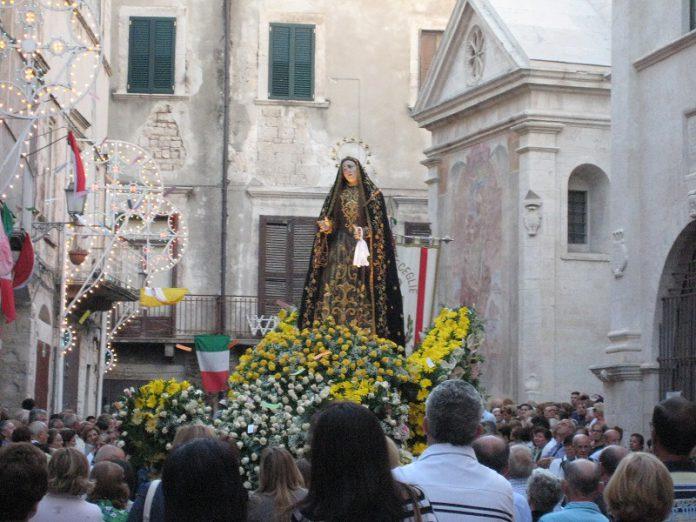 Grottaglie. Festa della Beata Vergine Maria SS. Addolorata