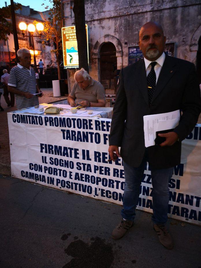 . REFERENDUM PER L'AGGREGAZIONE DI TARANTO E PROVINCIA NELLA REGIONE BASILICATA
