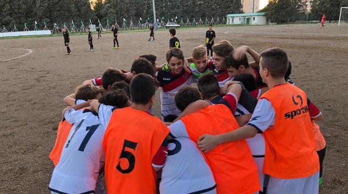 Al Tramontone di Taranto i Giovani Rossoblu battono i Diavoli Rossi