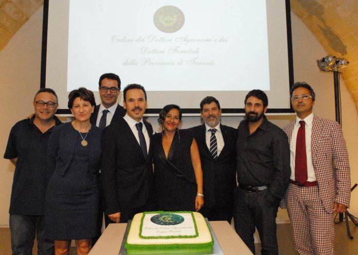 Premiazione a Crispiano iscritti Ordine Dottori Agronomi e Forestali della Provincia di Taranto