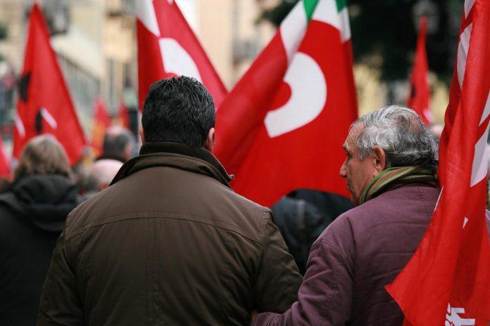 Sciopero dei lavoratori dell'Ilva di Taranto per tornelli non funzionanti