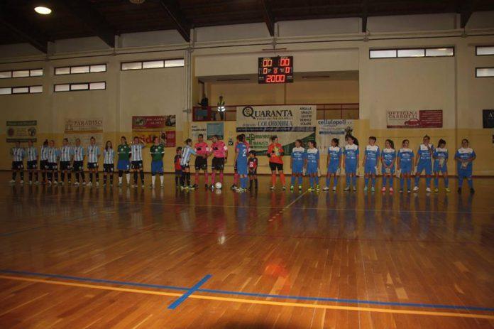 La Woman Futsal Club Grottaglie perde contro il Dona Five Fasano