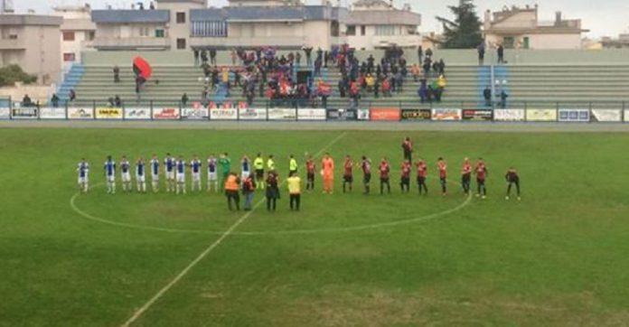 Partita Fasano -Taranto finisce 2-2. I padroni di casa ci hanno creduto fino in fondo