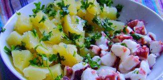Purpu alla pignata con patate di Carosino