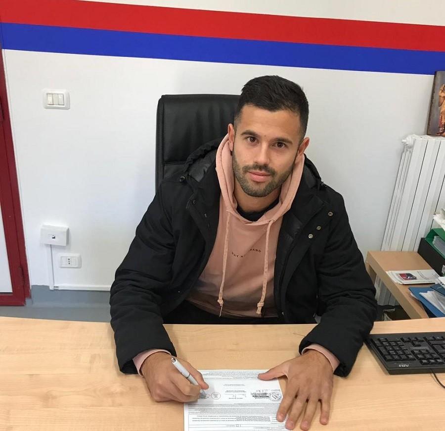 Al Taranto FC arriva un nuovo calciatore Damiano Menna
