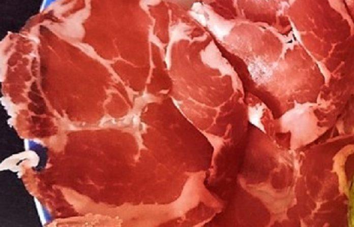Il Capocollo un'eccellenza della gastronomia di Martina Franca