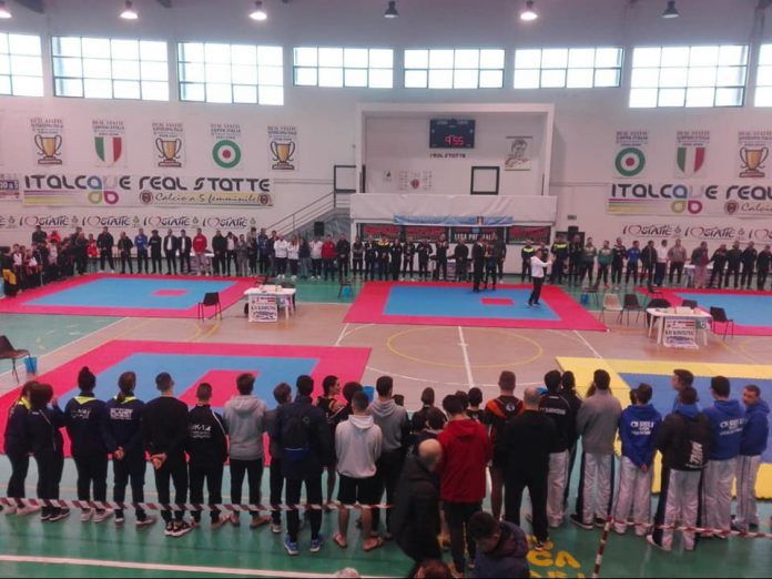 Lorenzo Damico giovane promessa di Taranto nel Kick Boxing