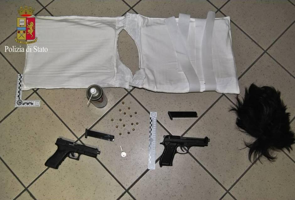Polizia e Carabinieri di Taranto in azione per reprimere detenzione armi e stupefacenti