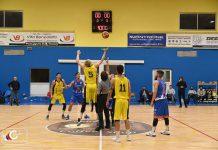 Secondo posto Basket Santa Rita Taranto girone d'andata debutto in serie C