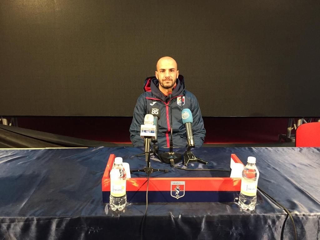 Taranto - Francavilla e Sebastian Di Senso fa le sue dichiarazioni