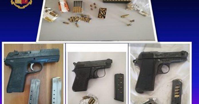 Arrestato 74enne di Manduria. Nascondeva in casa tre pistole