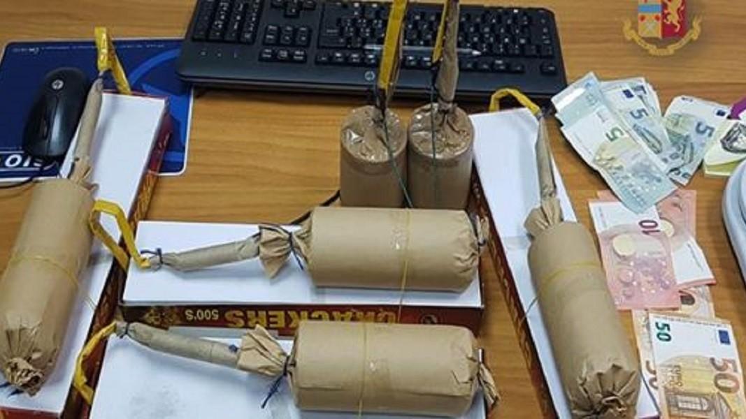 Denunciato 39enne di Taranto per detenzione materiale esplodente