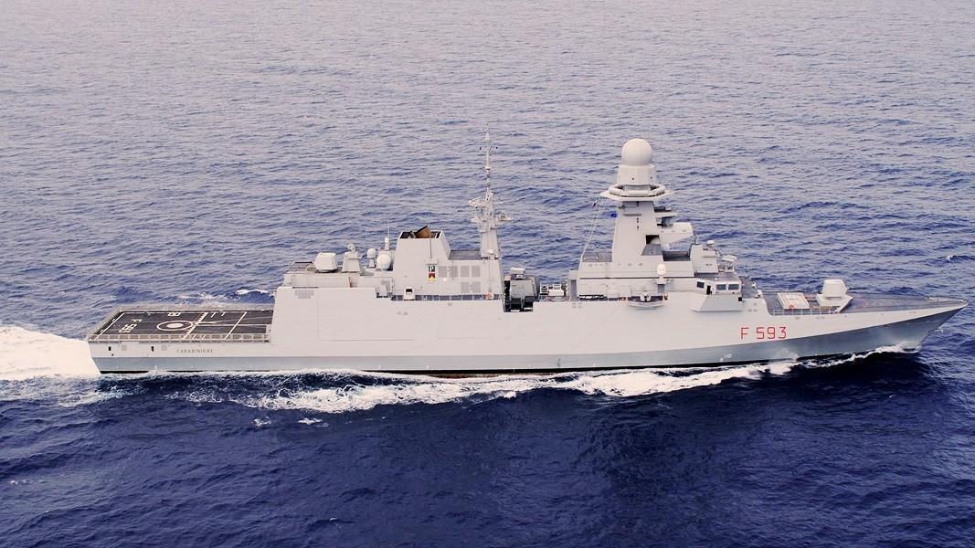 Ferito sottufficiale a Taranto sulla nave Bergamini