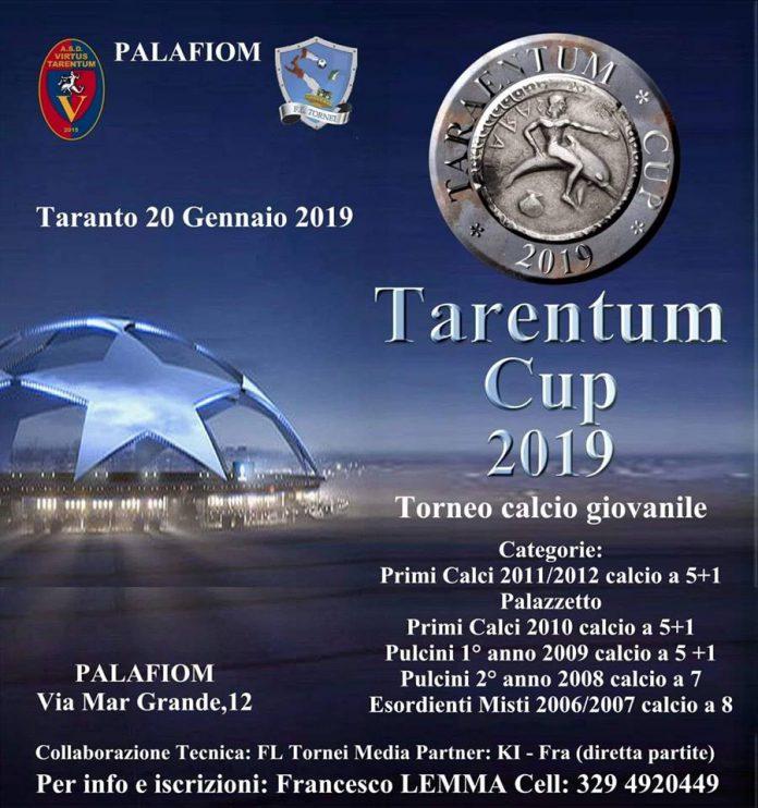 La Tarentum Cup al Palafiom di Taranto