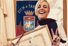 Nadia Toffa cittadina onoraria di Taranto