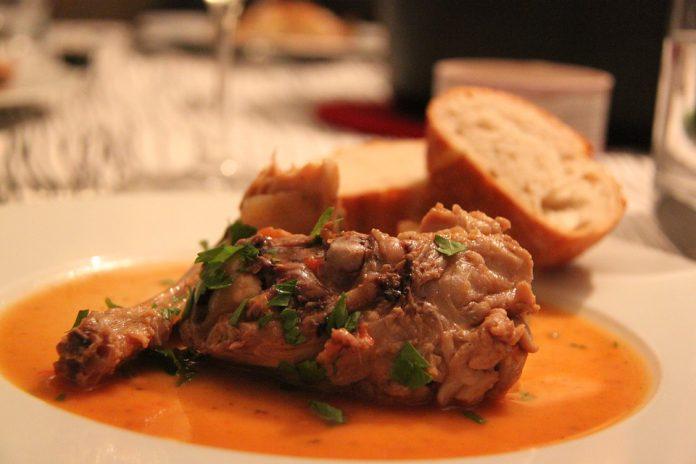 Ossobuco al vino rosso con i funghi ricetta di Lizzano
