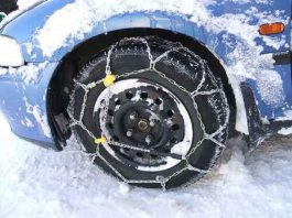 Partoriente bloccata dal ghiaccio a San Marzano di San Giuseppe salvata dai Carabinieri