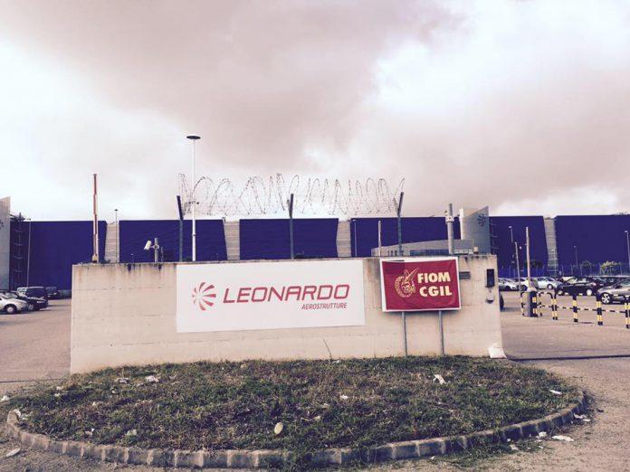 """Sfiorata la tragedia nello stabilimento """"Leonardo"""" di Grottaglie"""