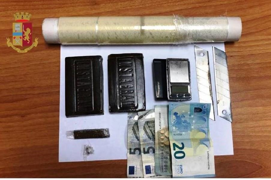 18enne arrestato per spaccio sostanze stupefacenti a Taranto