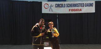 Club Scherma Taranto. Bronzo a Lorenzo Benetti