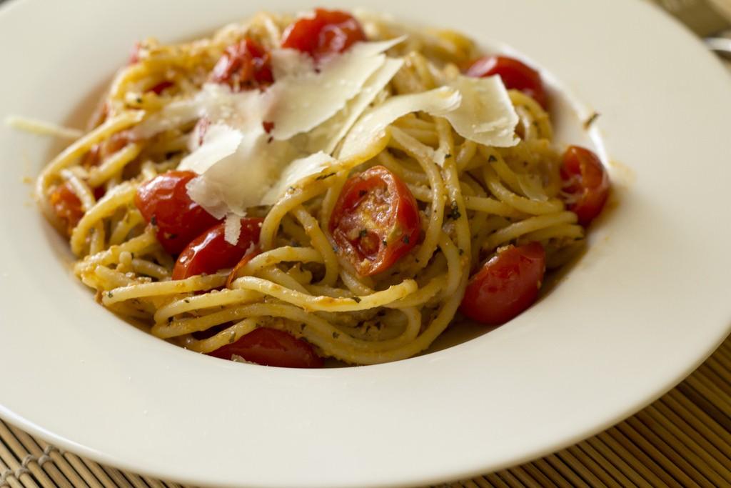 Spaghetti all'assassina. Oggi da Monteiasi