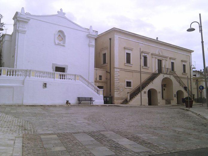 Faggiano. Chiesa del Carmine e vecchio comune