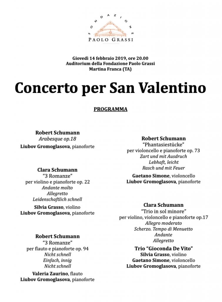 Concerto per San Valentino