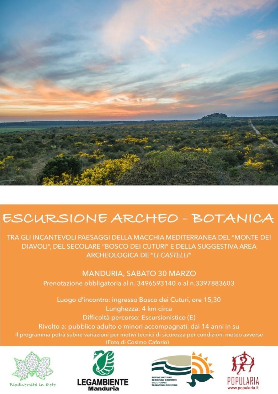 A Manduria Escursione Archeo Botanico Paesaggistica