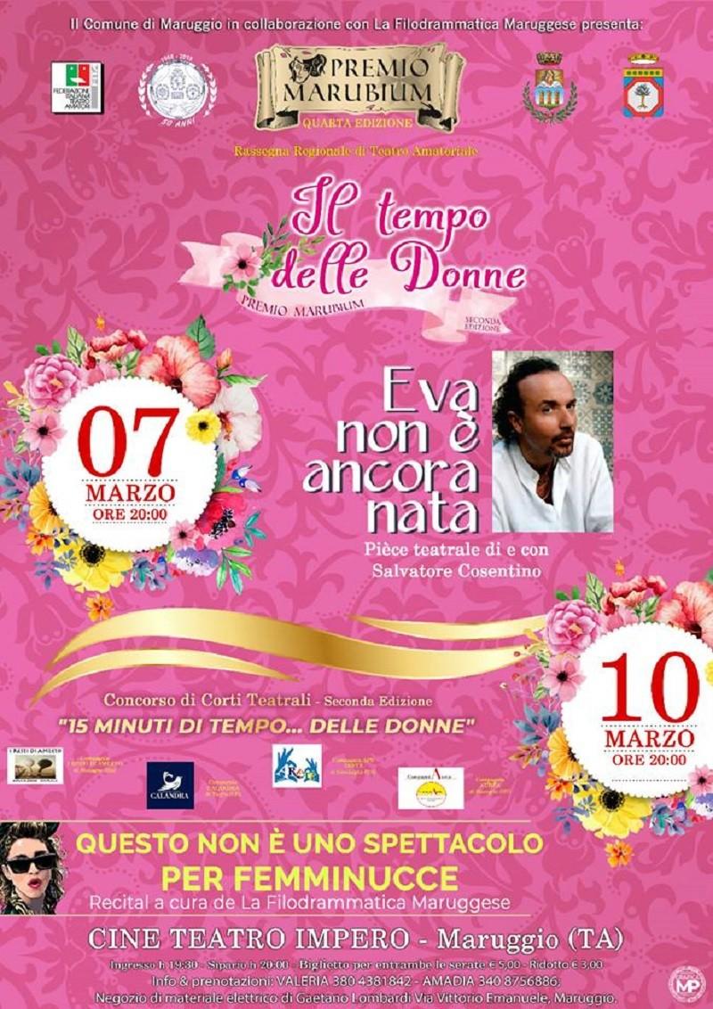 Al Cine Teatro Impero di Maruggio per omaggiare le donne