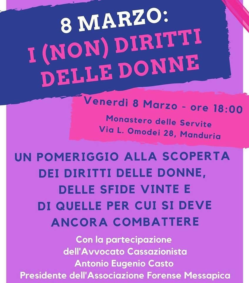 Associazione Cicatrici di Manduria festeggia l'8 marzo