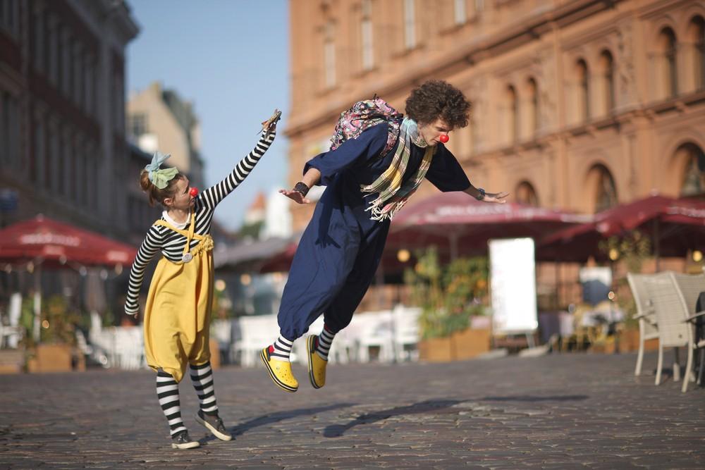 Cisternino Street Clown