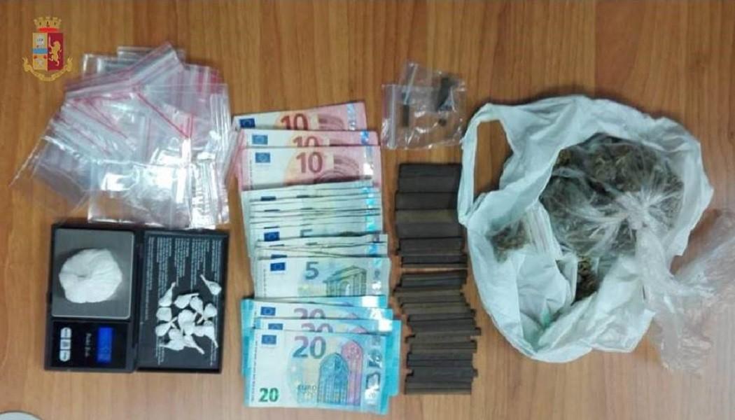 Cocaina, hashish e marijuana sequestrate a Taranto