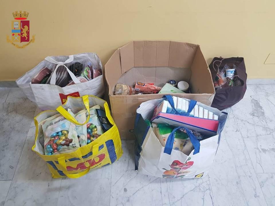 Colti sul fatto responsabili di furti a supermercati a Taranto