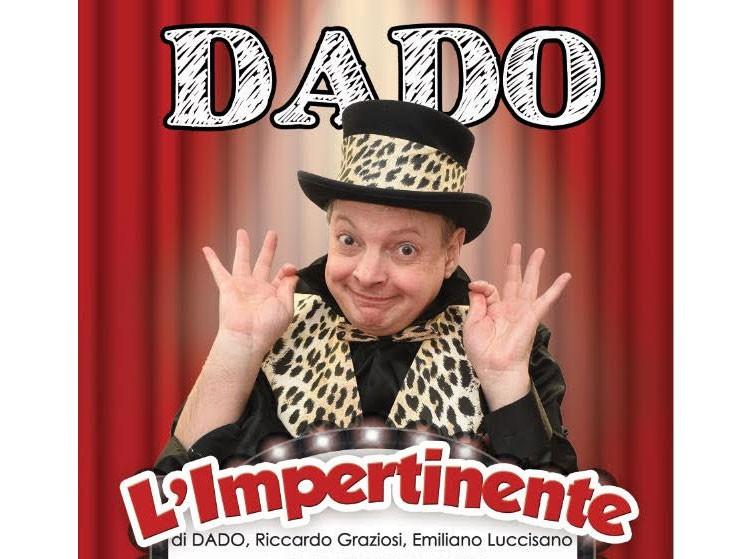 Martina Franca, al Cinema Teatro Nuovo va in scena DADO - L'IMPERTINENTE