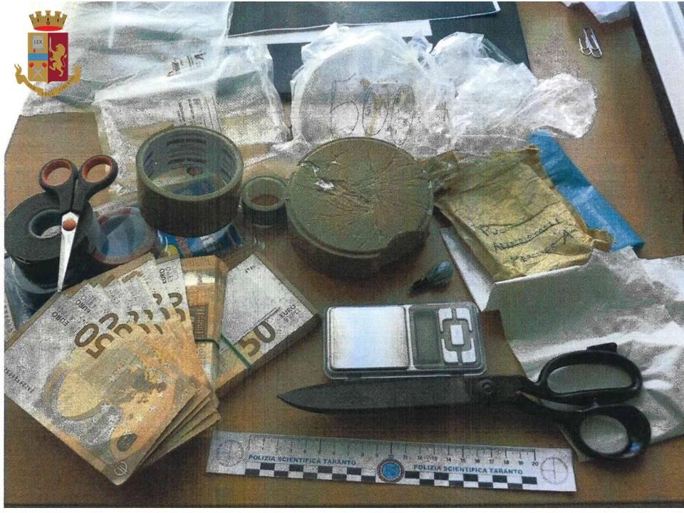 49enne di Manduria arrestato per spaccio