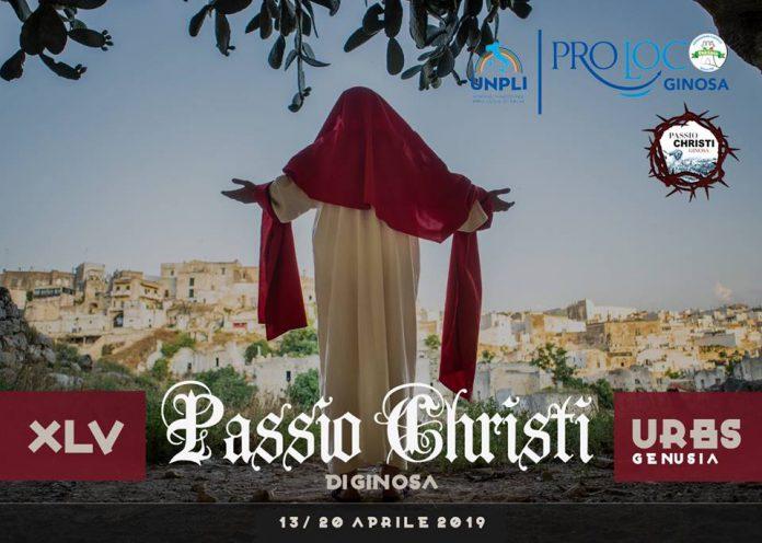 La Passio Christi ritorna nel cento storico di Ginosa