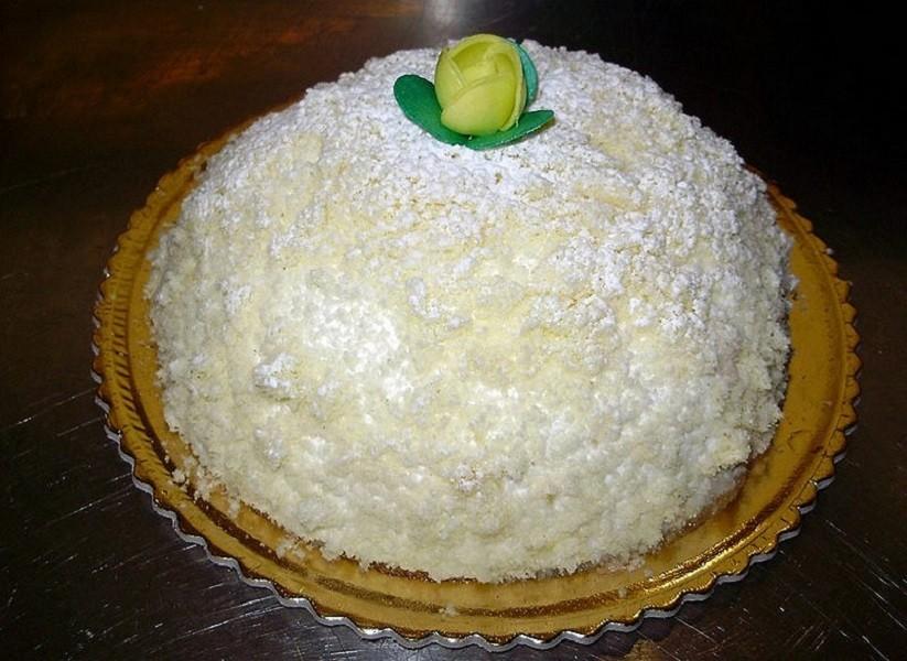 Ricetta di Fragagnano della torta mimosa