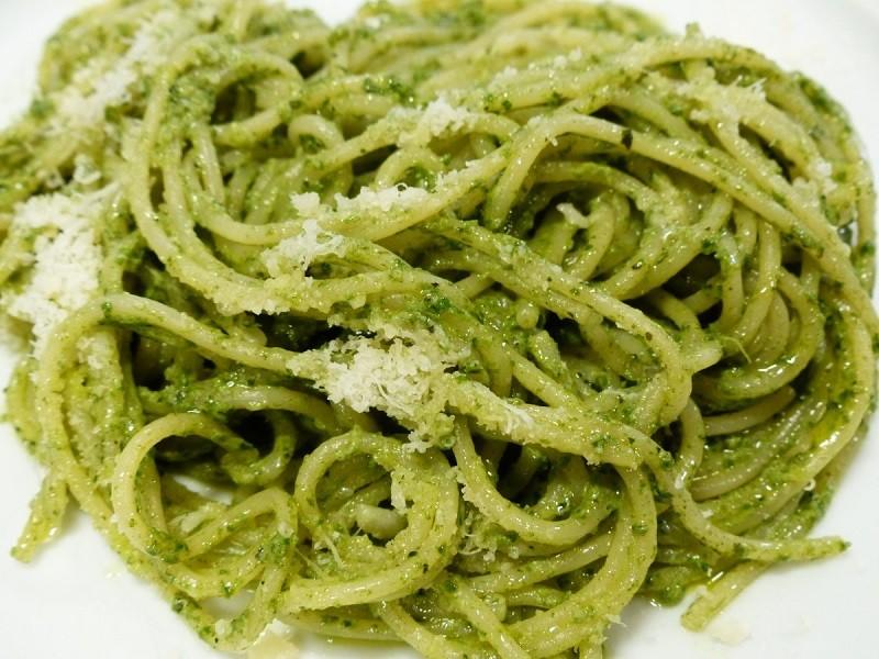 Ricetta di Palagiano della pasta con pesto di zucchine