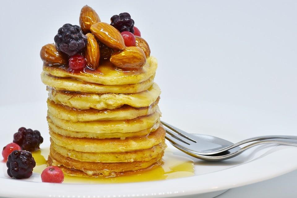 Ricetta di Sava dei pancake ai frutti di bosco