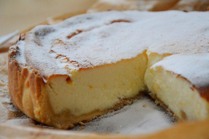Ricetta originale di Taranto della torta di ricotta
