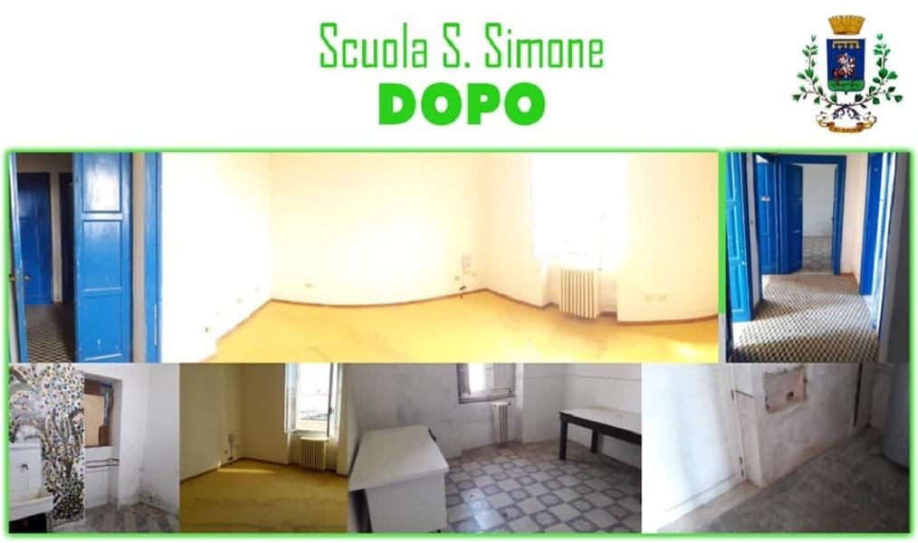 Ripuliti locali Scuola San Simone di Crispiano